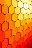 Fond d'hexagone Image libre de droits