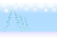 Fond d'hiver Images libres de droits