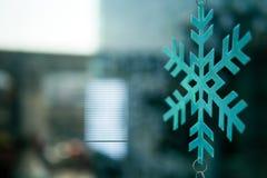 Fond d'hiver de Noël de flocons de neige beau Photographie stock