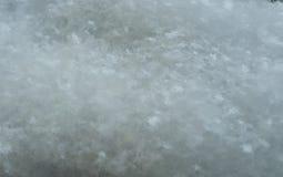 Fond d'hiver sur votre bureau Fond fait à partir des flocons de neige Un nombre incomptable de flocons de neige Photographie stock libre de droits