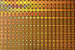 Fond d'hologramme. Photographie stock libre de droits