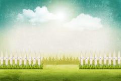 Fond d'horizontal d'été Image libre de droits