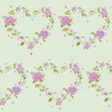 Fond d'hortensia de vintage Photo stock