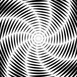 Fond d'illusion de mouvement de mouvement giratoire de conception illustration stock