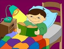 Fond d'illustration colorée d'un livre de lecture d'enfant Photographie stock libre de droits