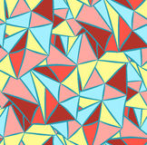 Fond d'image abstrait avec des triangles Image stock