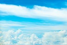 Fond d'image de nuage blanc et de ciel bleu Images libres de droits
