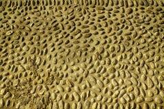 Fond d'image gentil des cailloux, texture ronde de roches images stock