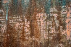 fond d'image rouill? de mur photo stock