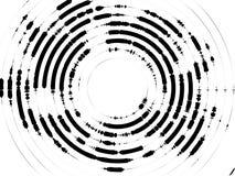 Fond d'image tramée de cercles concentriques illustration stock