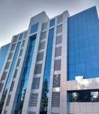 Fond d'immeuble de bureaux Images libres de droits