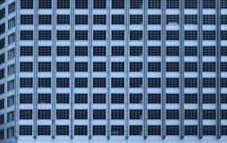 Fond d'immeuble de bureaux de Windows Photographie stock libre de droits