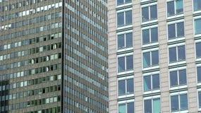 Fond d'immeubles de bureaux Photographie stock