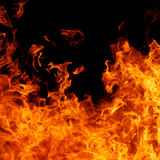 Fond d'incendie Images stock