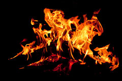 Fond d'incendie Photo stock
