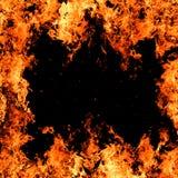 Fond d'incendie Image libre de droits