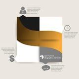 Fond d'infographics de vecteur Photo libre de droits