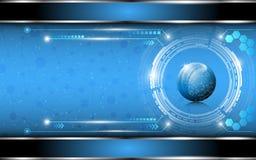 Fond d'innovation de technologie et de science illustration de vecteur
