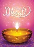 Fond d'insecte et d'affiche de festival de Diwali Photos libres de droits