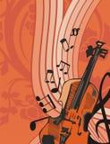 Fond d'instrument de musique Photos libres de droits