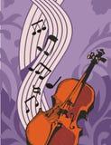 Fond d'instrument de musique Photographie stock libre de droits