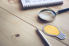 Fond d'investisseur de table de bureau Concept d'affaires photos libres de droits
