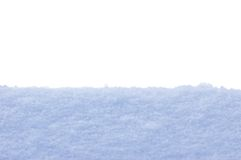 Fond d'isolement par plan rapproché de texture de neige image stock