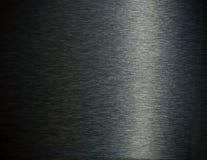 Fond d'obscurité d'acier inoxydable Photo stock