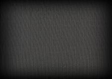 Fond d'obscurité de tissu Photo stock