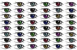 Fond d'oeil Image libre de droits