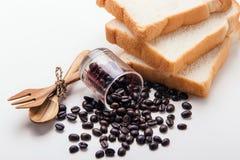 Fond d'oeuvre d'art de grains de café Image libre de droits