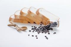 Fond d'oeuvre d'art de grains de café Photo libre de droits