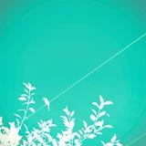 Fond d'oiseau de turquoise images stock