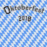 Fond 2018 d'Oktoberfest illustration stock