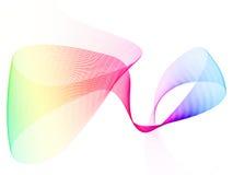 Fond d'onde d'arc-en-ciel illustration libre de droits