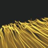 Fond d'onde Grille d'ondulation illustration abstraite de vecteur illustration libre de droits