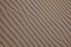 Fond d'ondes de sable Photos libres de droits