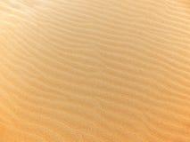 Fond d'ondes de sable Photographie stock