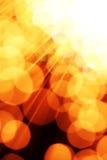 Fond d'optique des fibres Photo libre de droits