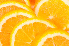 Fond d'oranges Images stock