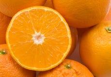 Fond d'oranges Photos libres de droits