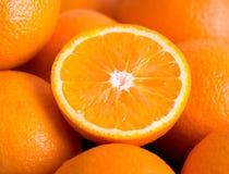 Fond d'oranges Photo libre de droits