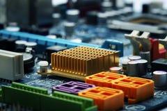 Fond d'ordinateur de bord de circuit Photos libres de droits