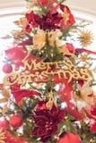 Fond d'ornement de Joyeux Noël Photographie stock libre de droits