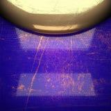 Fond d'or peint dans le bleu Photo libre de droits