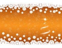 Fond d'or pour le projet de nouvelle année illustration stock