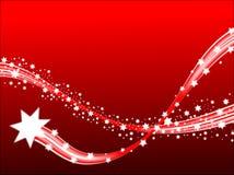 Fond d'étoiles filantes Photo libre de droits