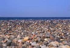 Fond d'un Pebble Beach Photo stock