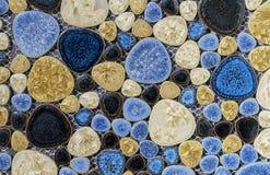 Fond d'une coupe d'une pierre de quartz de la diverse coloration photo stock