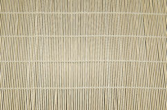 Fond d'une serviette en bambou Photographie stock libre de droits